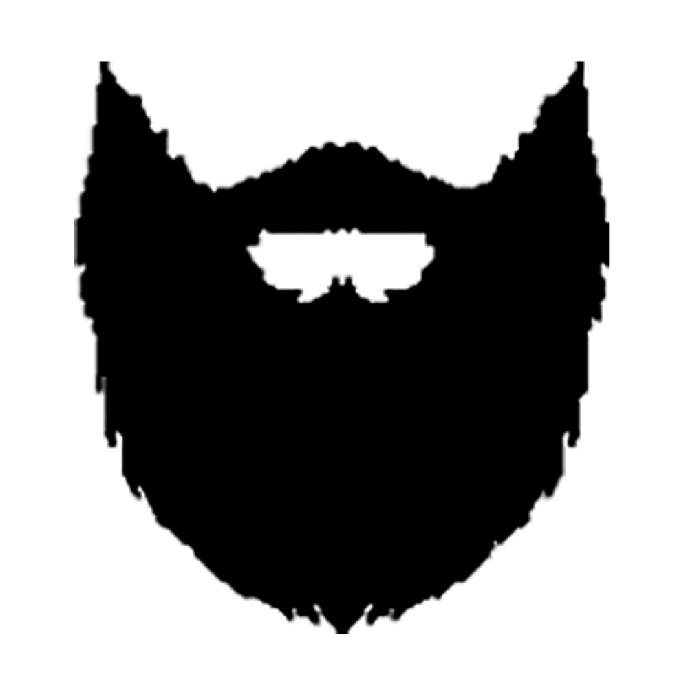 vector black and white stock Goatee free download best. Beard clipart animated