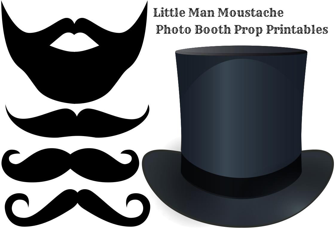 clip art free stock Moustache a little man. Beard clipart baby shower.