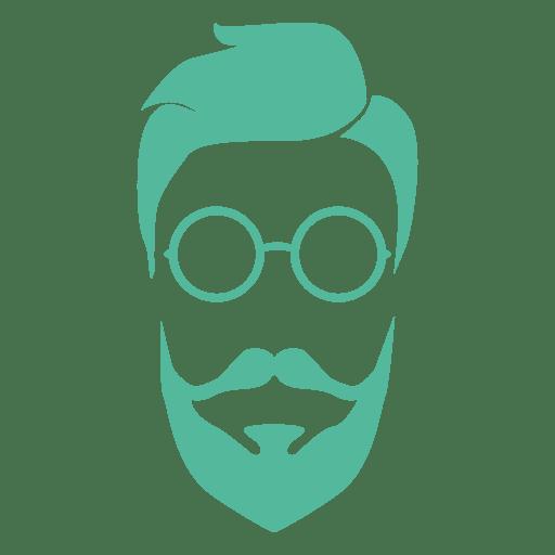clipart transparent Beard clipart bearded man. Hipster beards pattern vector
