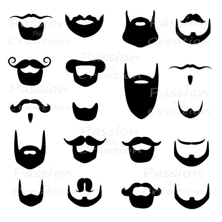 clip art freeuse download Free cliparts download clip. Beard clipart big.