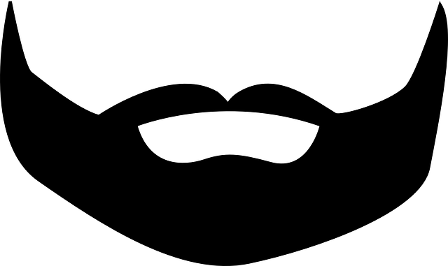 clip royalty free stock Beard clipart big. Black cartoon cartoonankaperlacom