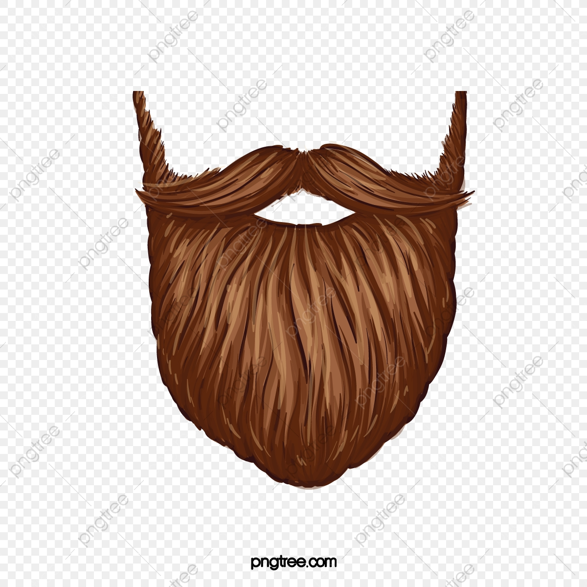 png library stock Image creative . Beard clipart big