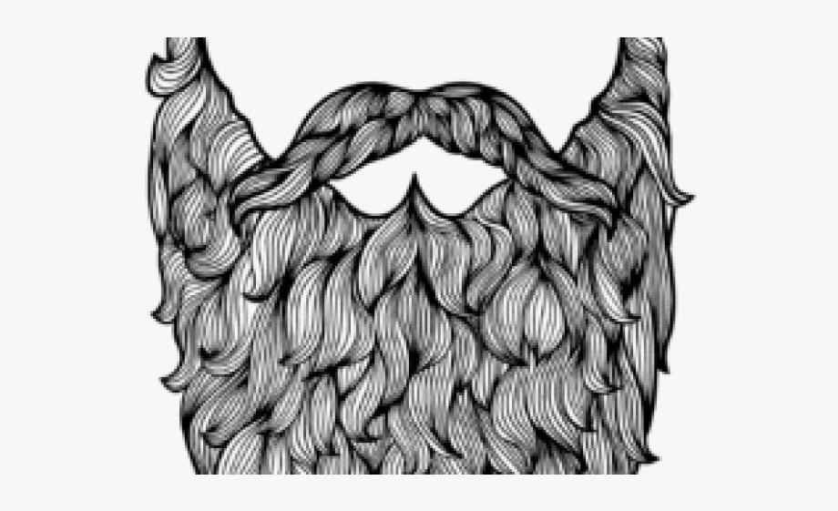clip royalty free Drawn data free . Beard clipart big.