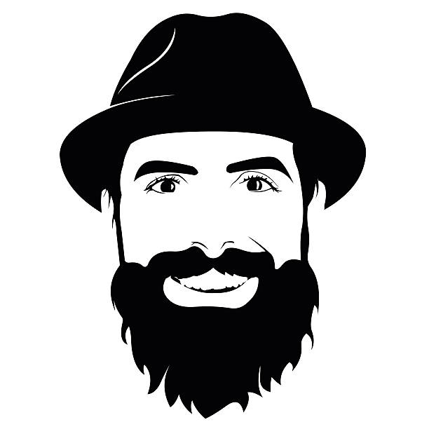 clip art free download Beard clipart black and white. .