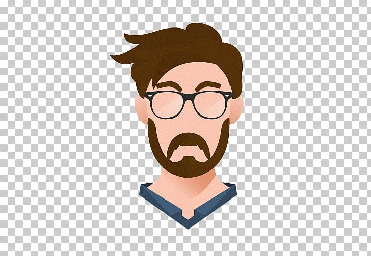 graphic royalty free library Avatar icon png man. Beard clipart boy