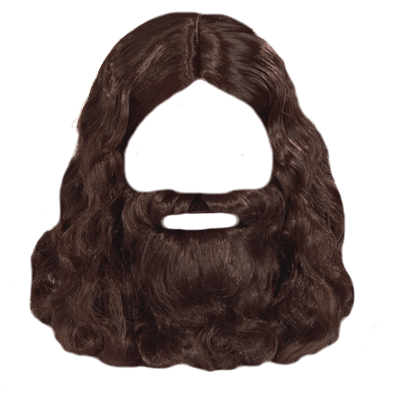 picture free stock Beard clipart brown. Hippie transparent png stickpng