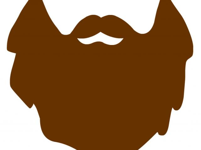 picture download Free download clip art. Beard clipart brown