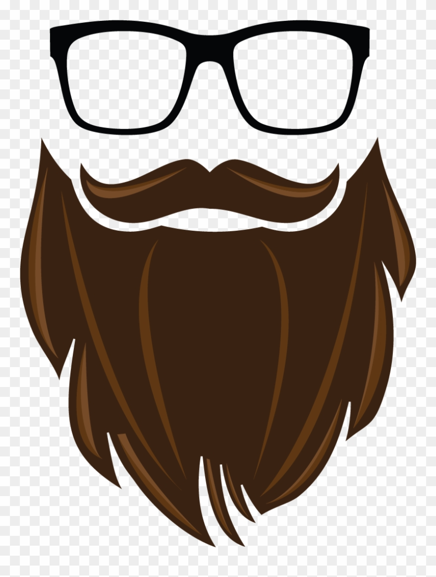 svg royalty free download Hd pinclipart . Beard clipart brown