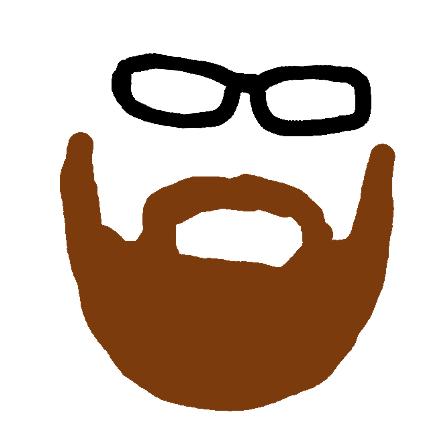 clipart download Beard clipart brown. Clipartfest clip art library