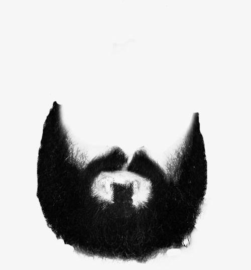 svg free download Png black . Beard clipart bushy