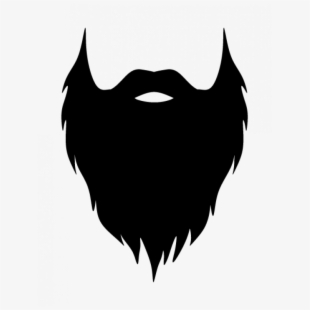 picture library Beard clipart bushy. Free cliparts silhouettes cartoons.