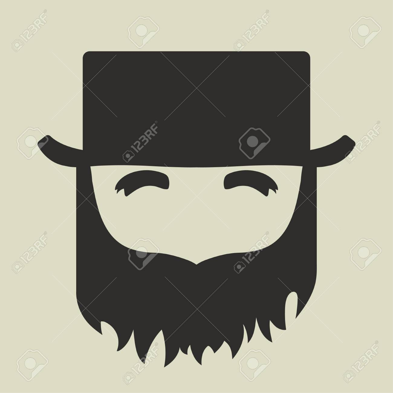 png black and white stock X free clip art. Beard clipart bushy.