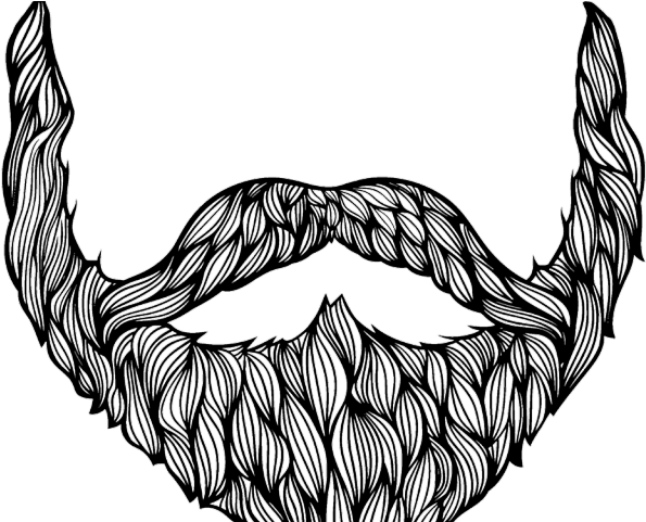 clip art royalty free download Beard clipart bushy tree. Drawn drawing download on