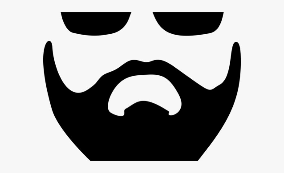 clip black and white stock Beard clipart chasma. Mustache emoji with glasses