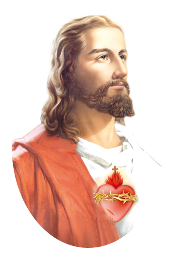 svg black and white Imagen sagradocorazonjesus png . Beard clipart chin