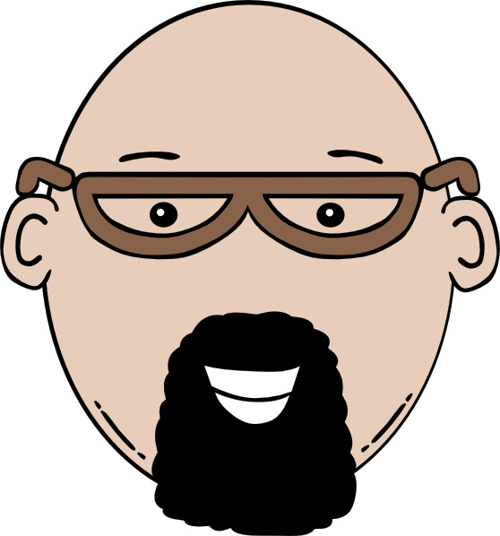 image royalty free library Cartoon people faces free. Beard clipart chin