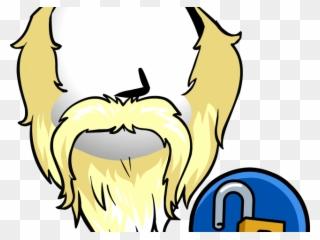banner Viking png . Beard clipart club penguin