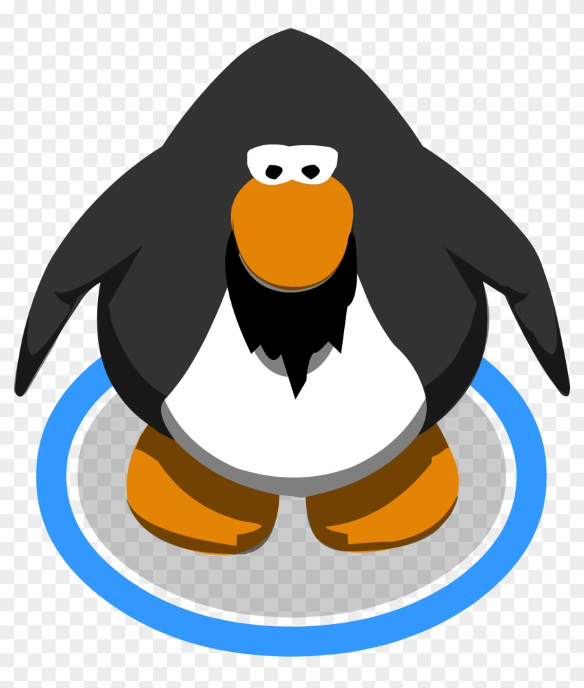 graphic transparent With a top hat. Beard clipart club penguin