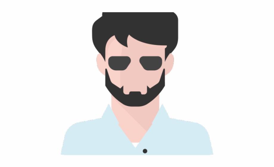 vector download Beard clipart cool shades. Gentleman transparent png
