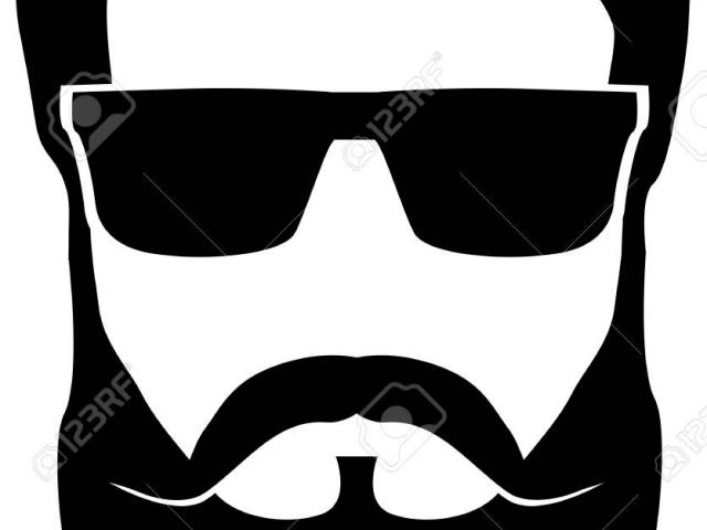 banner library download Beard clipart cool shades. X free clip art