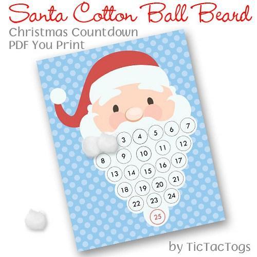 picture black and white Santa clip art library. Beard clipart cotton ball.