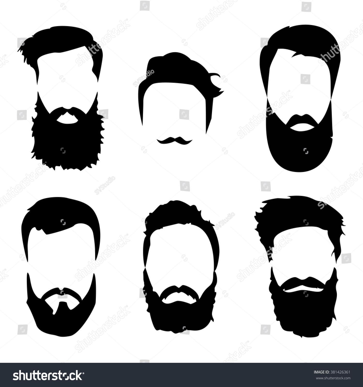 clipart library stock Beard clipart doodle. Transparent free for