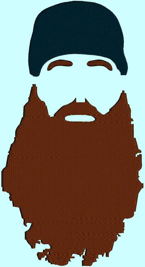 banner library stock Template birthdays party . Beard clipart duck dynasty