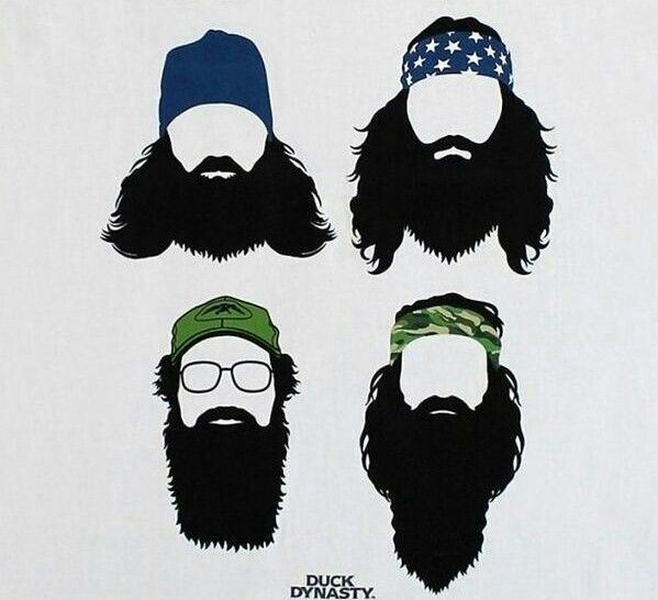 image freeuse library Beard clipart duck dynasty.  awesome silhouette images