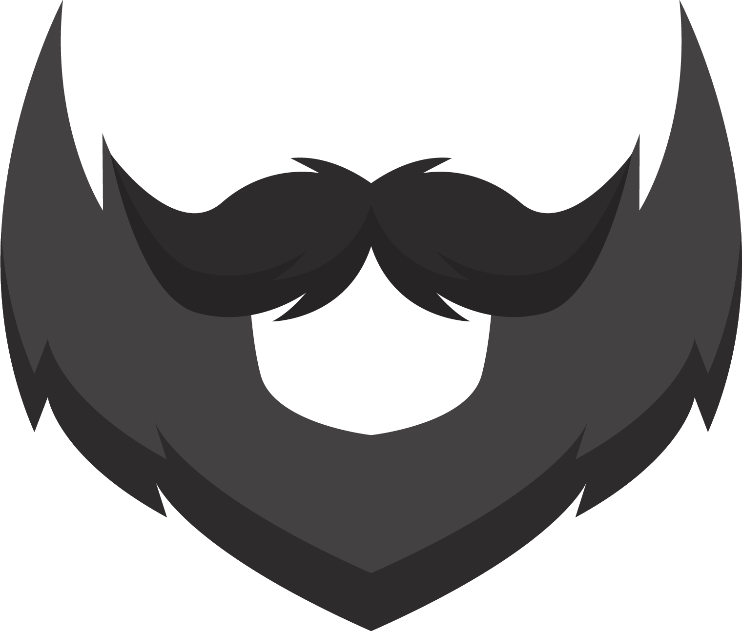 clipart royalty free download Beard clipart editing. Silhouette clip art at