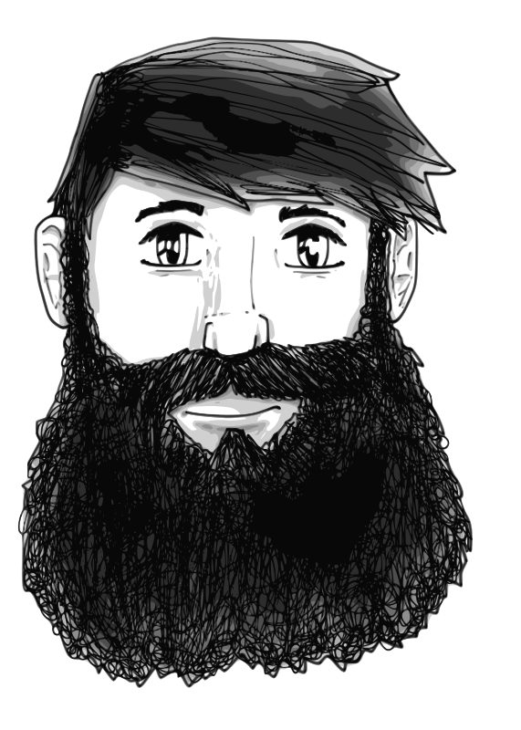 image freeuse download Free clipartix. Beard clipart face.
