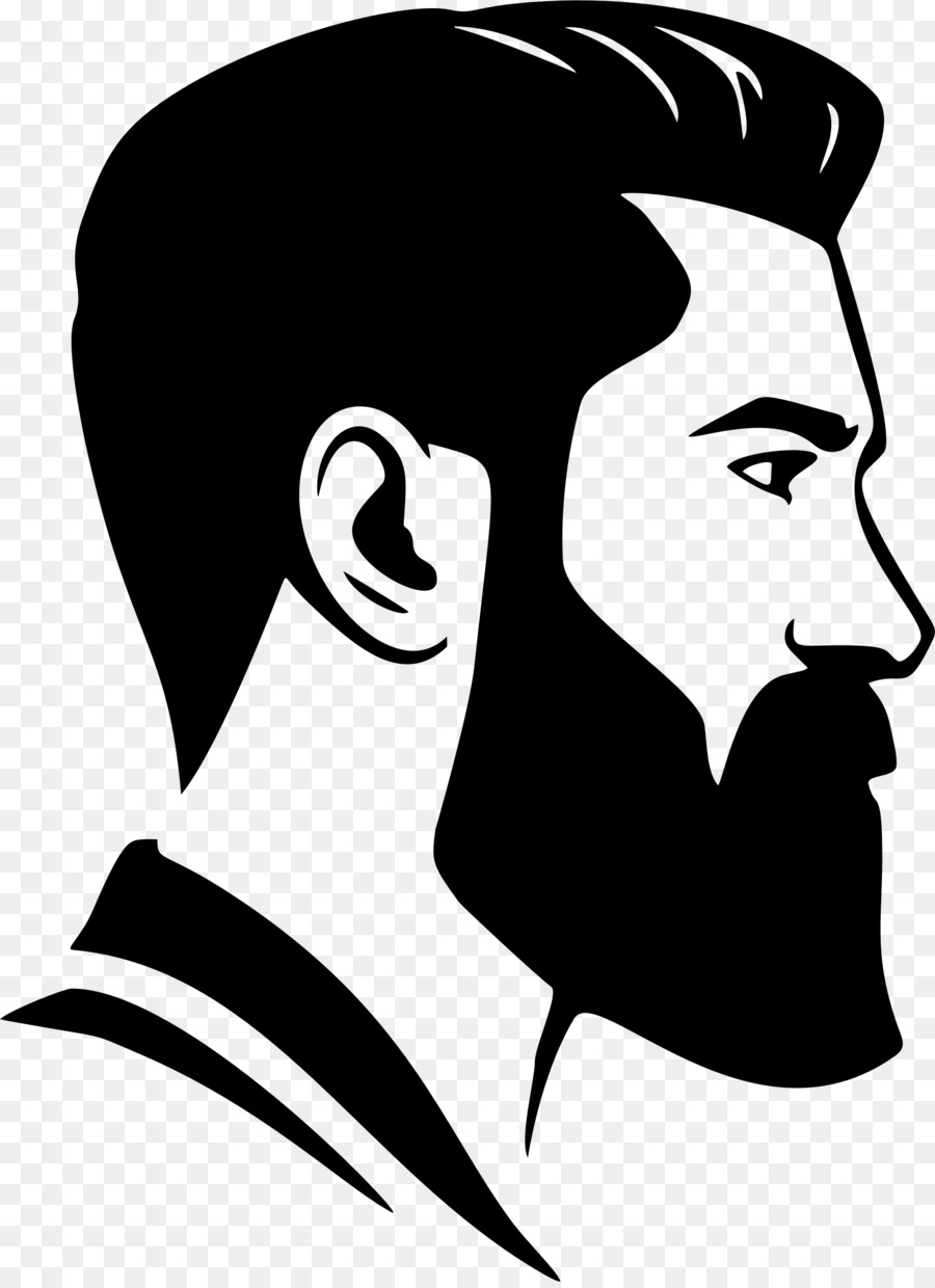 royalty free Transparent free . Beard clipart face.