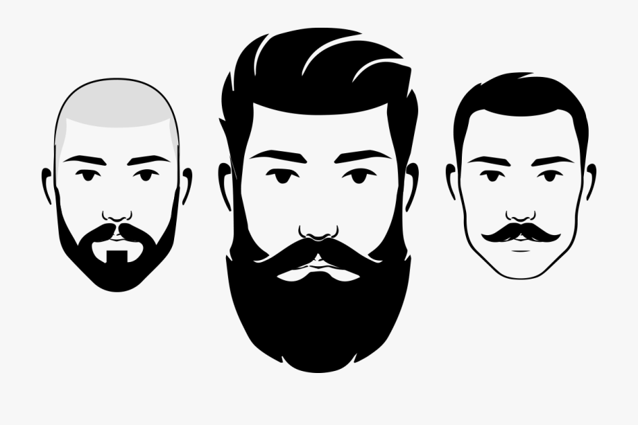 jpg freeuse download Download for free png. Beard clipart face.