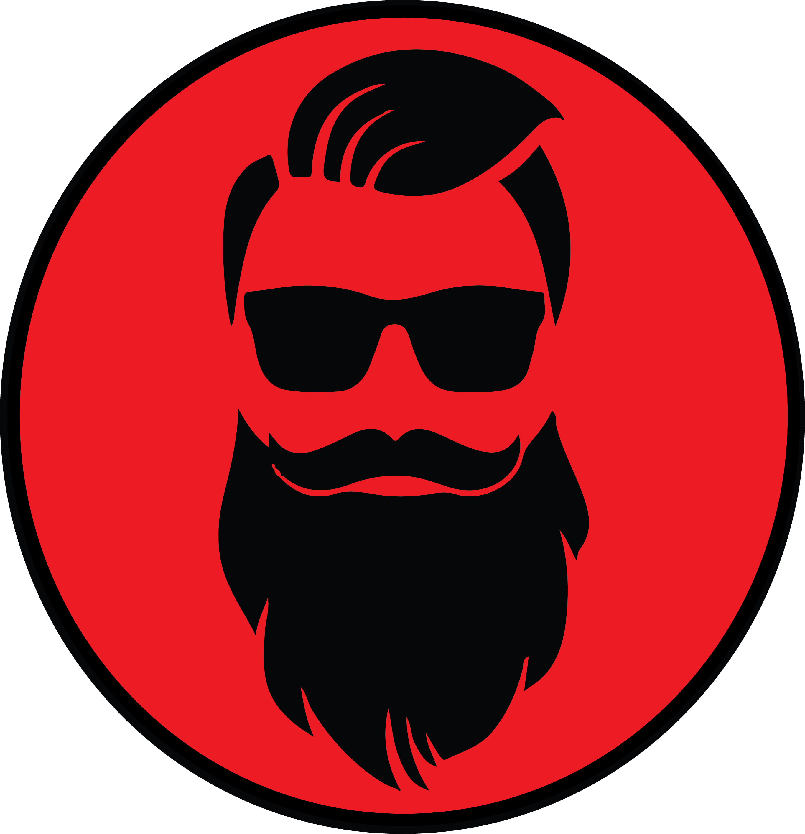 picture freeuse library Beard clipart faceless. To change company name