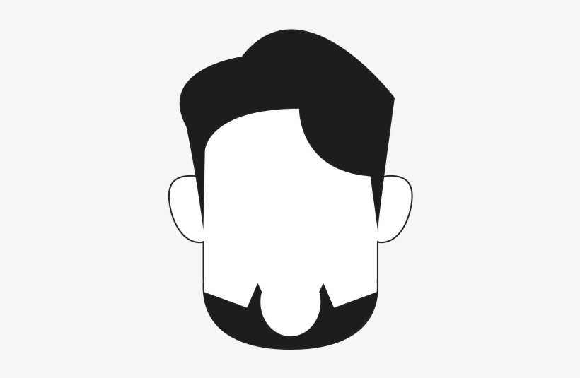 free Beard clipart faceless. Graphic transparent download icon