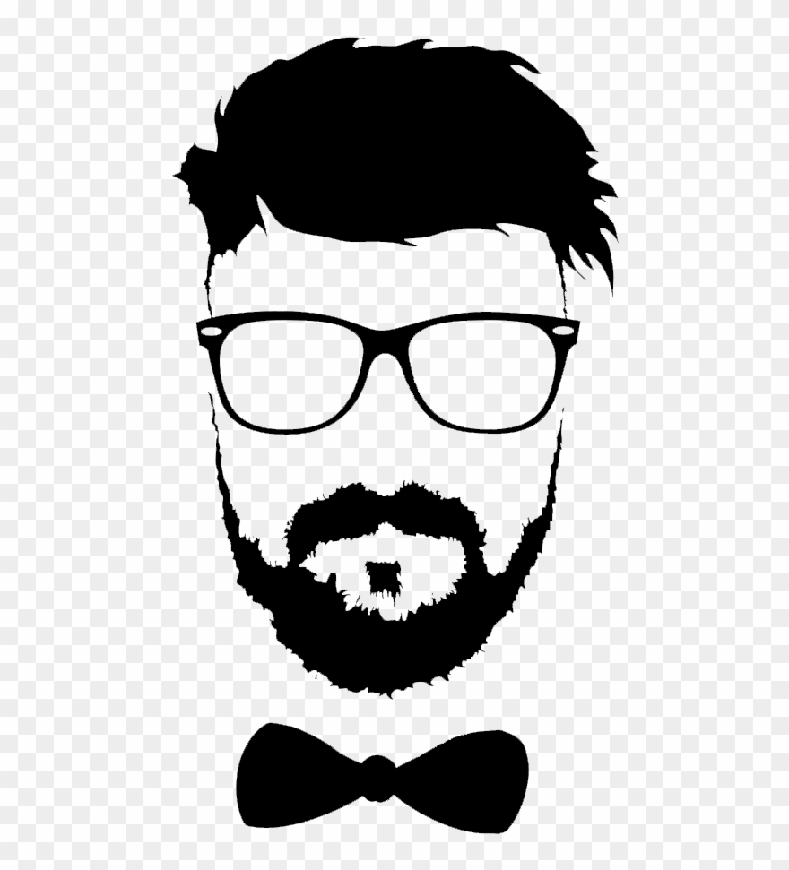 graphic freeuse Hairstyle moustache glasses png. Beard clipart file