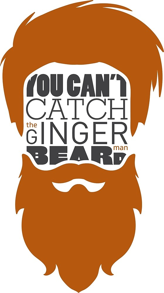 image library library You can t catch. Beard clipart ginger