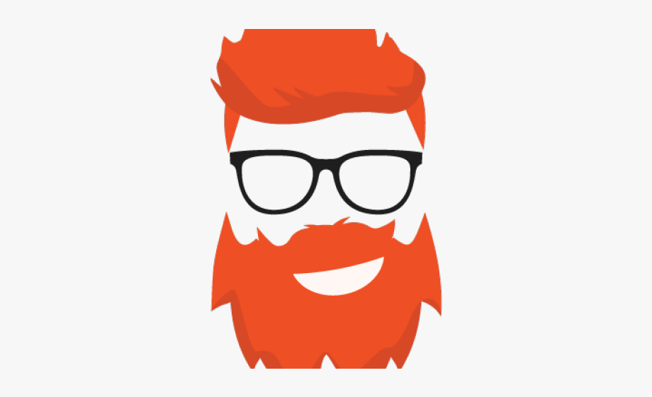 vector black and white download Hair cartoon free cliparts. Beard clipart ginger.