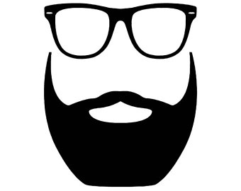 clipart library download Man cliparts free download. Beard clipart glares.