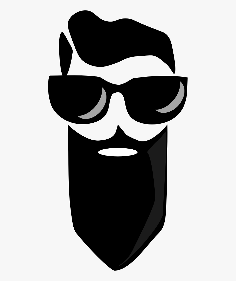 clipart free download Bearded man big image. Beard clipart glares