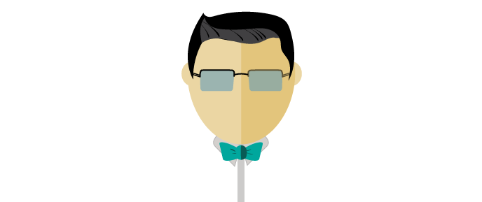 png freeuse download Beard clipart glares. Chris jiang designs logo