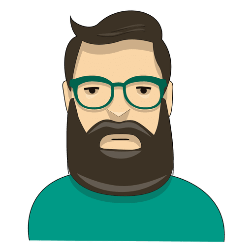 picture royalty free stock Hipster green wayfarer transparent. Beard clipart glass