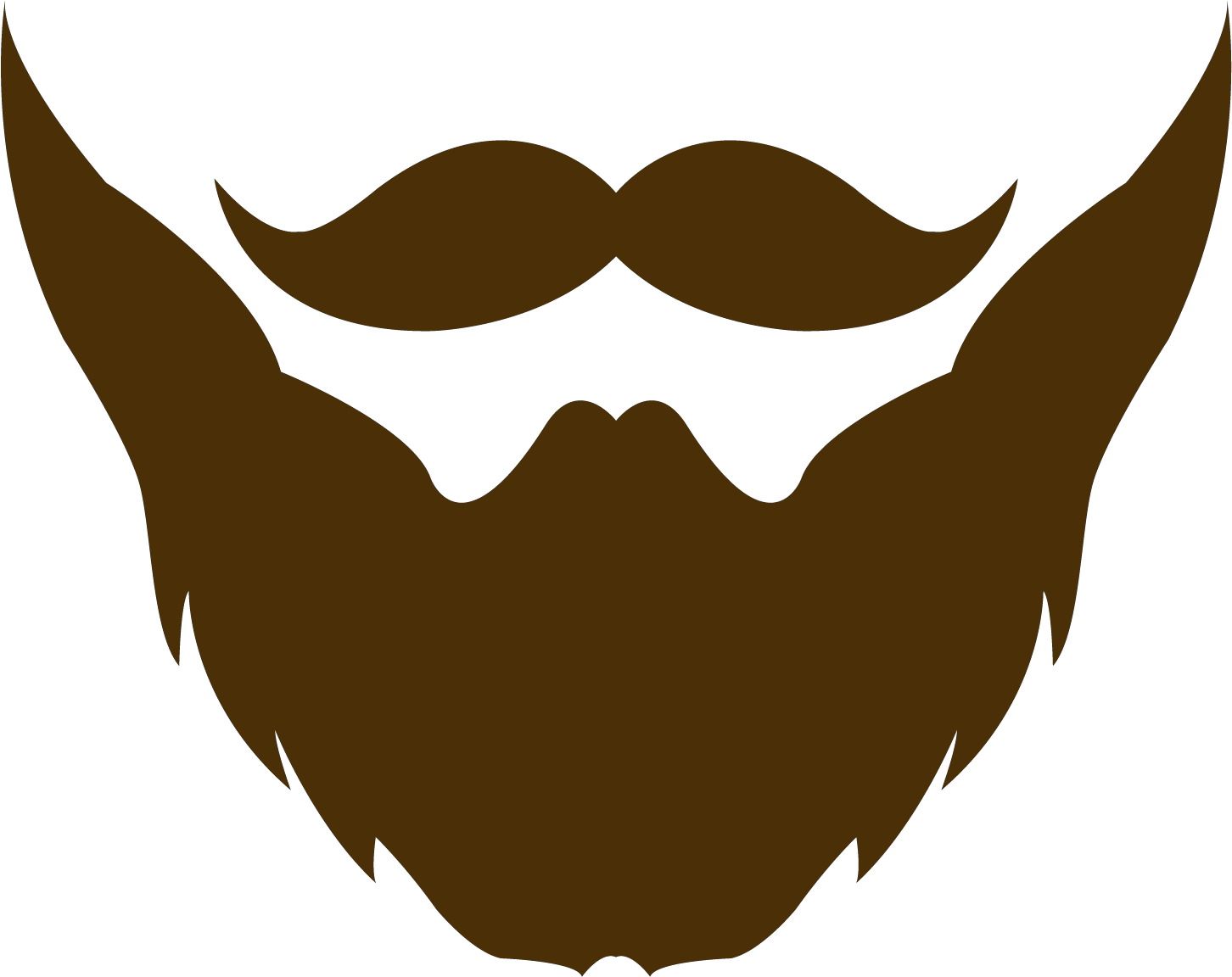 picture transparent Beard clipart goatee. Mustache and png clip.