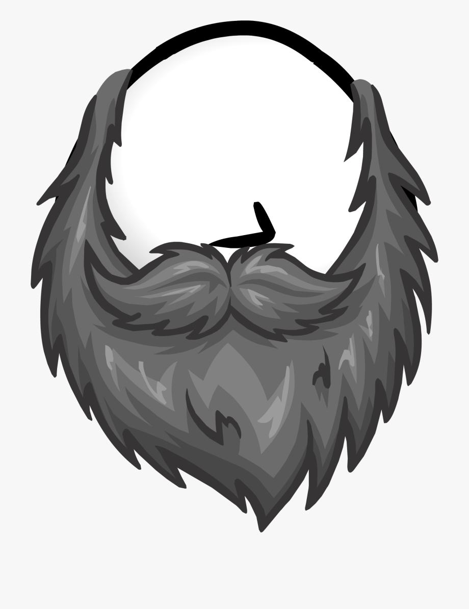 clip library download Beard clipart gray. Grey club penguin