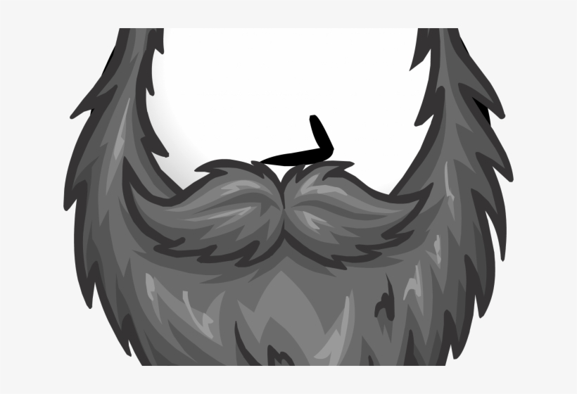 clipart free library Beard clipart grey. Png transparent