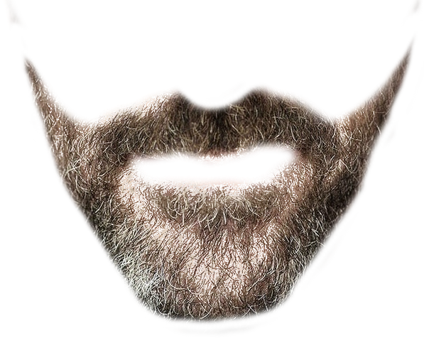 picture black and white download Designer beard transparent background