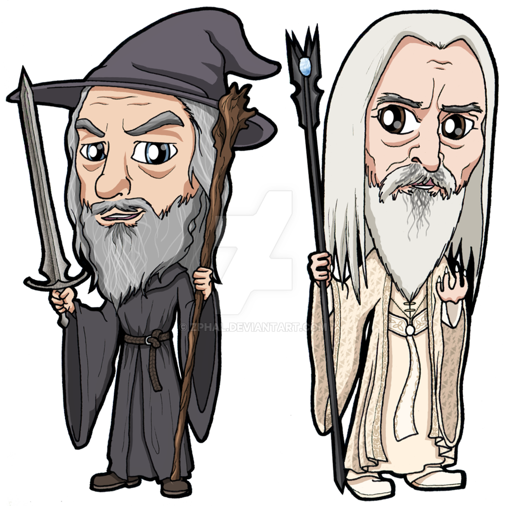 png royalty free download Lord of the rings. Beard clipart grey