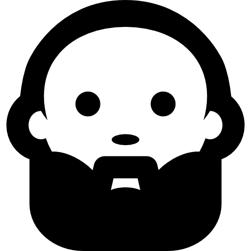 image freeuse stock Icon page. Beard clipart guy