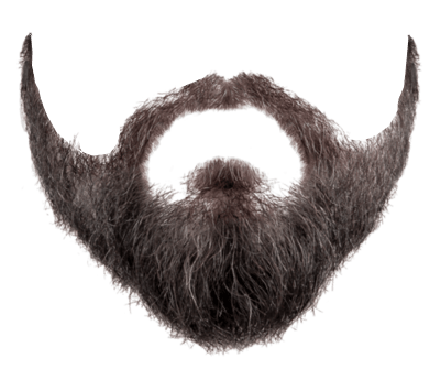 clip art royalty free stock Beard clipart hipster haircut. Full face transparent background