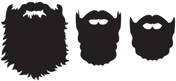 svg freeuse library Beard clipart huge. Gallery free pictures
