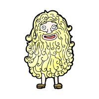 picture transparent library Cartoon man with stock. Beard clipart huge